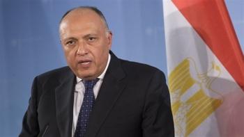 وزير الخارجية المصرية