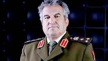 مدير إدارة التوجيه المعنوى بالجيش الوطنى الليبى العميد خالد المحجوب