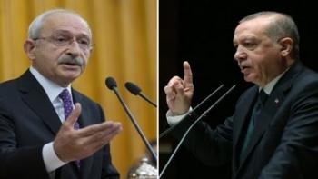 أردوغان وزعيم المعارضة التركية