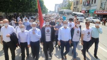 مسيرة نقابات المحامين بتركيا