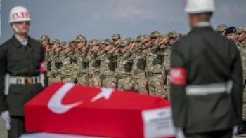 جنازة لجندي تركي - صورة أرشيفية