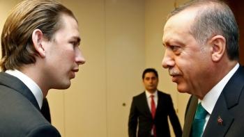 رئيس وزراء النمسا وأردوغان