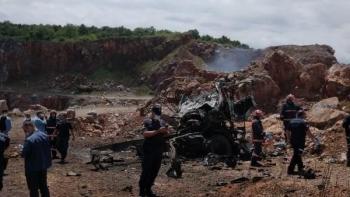 انفجار شاحنة ألعاب نارية في تركيا