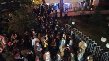 اعتصام المحامين الأتراك