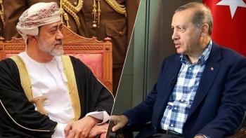 أردوغان وهيثم بن طارق