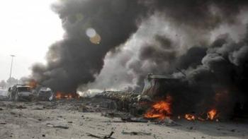 انفجار في سوريا - أرشيفية