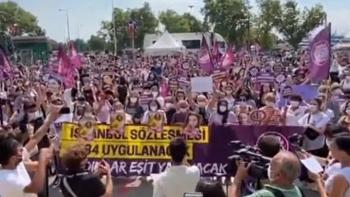 مظاهرات باسطنبول