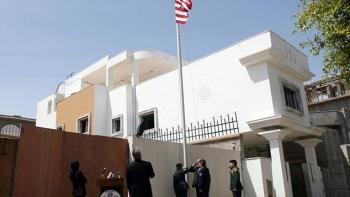 سفارة أمريكا في ليبيا