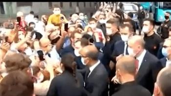 أردوغان وسط حشوده