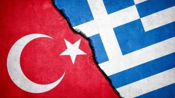 العلم التركي، واليوناني
