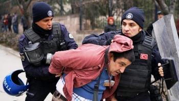جانب من الاعتقالات في تركيا