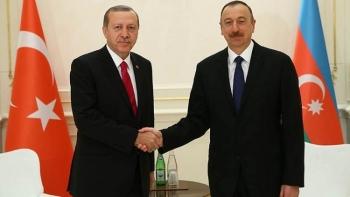 رئيسا تركيا وأذربيجان