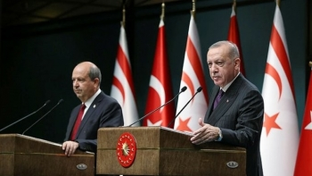 أردوغان ورئيس قبرص