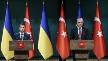 أردوغان مع الرئيس الأوكراني