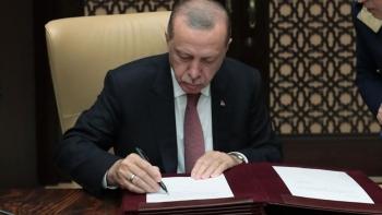 أردوغان يوقع موازنة 2021