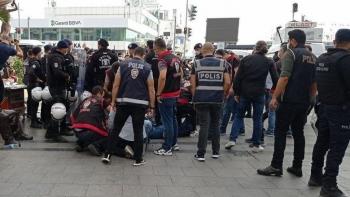 قوات الأمن تعتقل متظاهرين بأنقرة