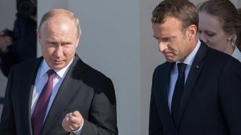 الرئيس الروسي والرئيس الفرنسي