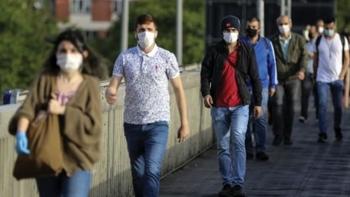 إصابات كورونا في أحياء إسطنبول