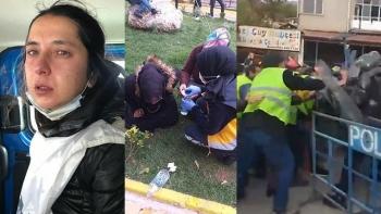 الشرطة التركية تستخدم العنف ضد عمال المناجم