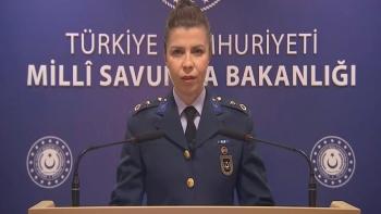 المتحدثة باسم وزارة الدفاع التركية