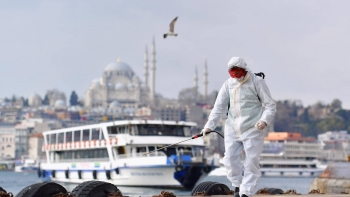 أزمة كورونا في تركيا