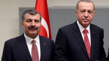 أردوغان وفخر الدين قوجة