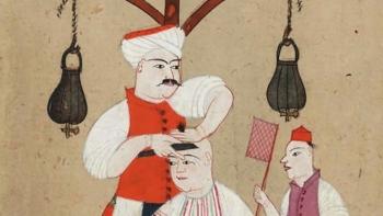 حلاق من العصر العثماني