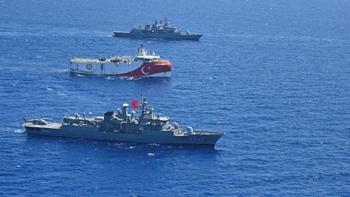 السفن التركية في شرق المتوسط