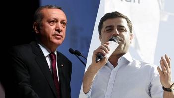 أردوغان ودميرتاش