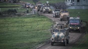 أرتال عسكرية تركية تصل إدلب