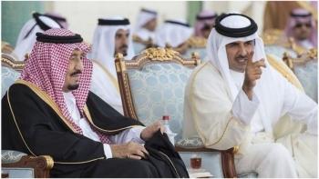 بن تميم وملك السعودية