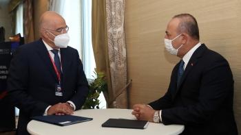 وزيرا خارجية اليونان وتركيا