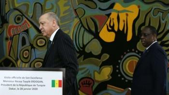 أردوغان مع الرئيس السنغالي ماكي سال - داكار يونيو 2020