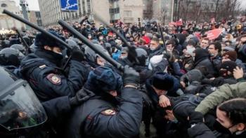 الاحتجاجات الروسية- رويترز