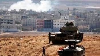 قصف تركي في كوباني