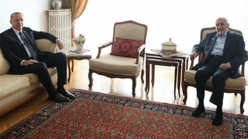 لقاء أردوغان مع أصيلتورك
