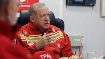 أردوغان واكتشافات الغاز الطبيعي
