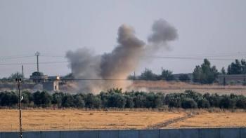 قصف تركي شمال سوريا