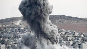 قصف عفرين