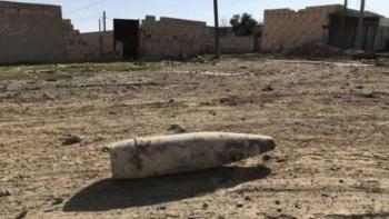 قذيفة تركية في شمال سوريا