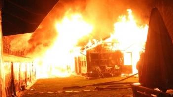 حريق بوغازيتشي