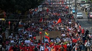 مظاهرات ميانمار