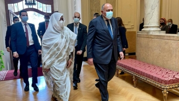 وزيرا خارجية مصر والسودان