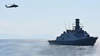 سفينة تركية بالمتوسط- أرشيفية