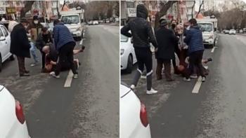 زوج يعتدي على زوجته بالضرب بأنقرة
