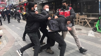 الشرطة التركية تعتدي على طلاب بوغازيتشي
