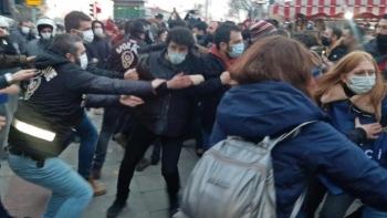 الشرطة وطلاب بوغازيتشي