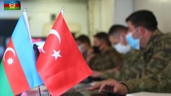 مناورات مشتركة بين تركيا وأذربيجان