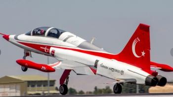 طائرة التركية طراز «NF-5»