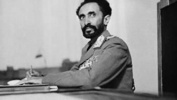 الإمبراطور الإثيوبي هيلا سيلاسي